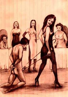 male slave auctions Femdom